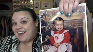 Vlogmas 2018  Day 21:  Old Christmas Photos and Memories