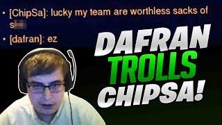 Dafran Trolling Chipsa! - Overwatch