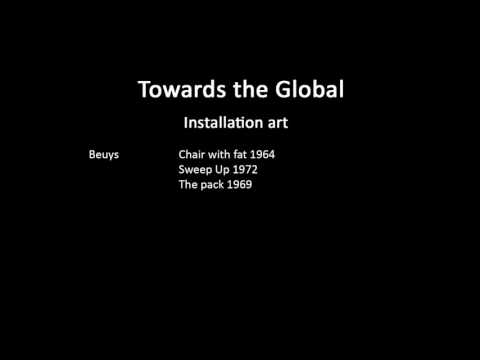A history of modern art in 73 lectures: lecture 69 (Installation art)