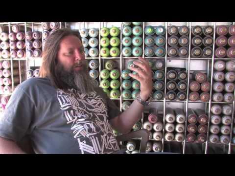 Art basel miami 2016 - Risky Godfather of Graffiti  aka RiskRock Interview by Corin Nemec  Part One