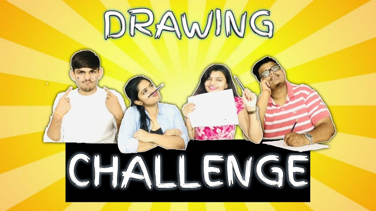 DRAWING CHALLENGE | By Challenging Vlogs |
