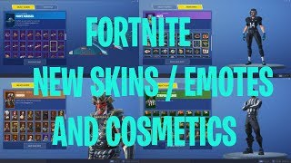 *NEW* Fortnite LEAKED Skins, Emotes & NEW Cosmetics! (NFL Skins, Spike It Emote)