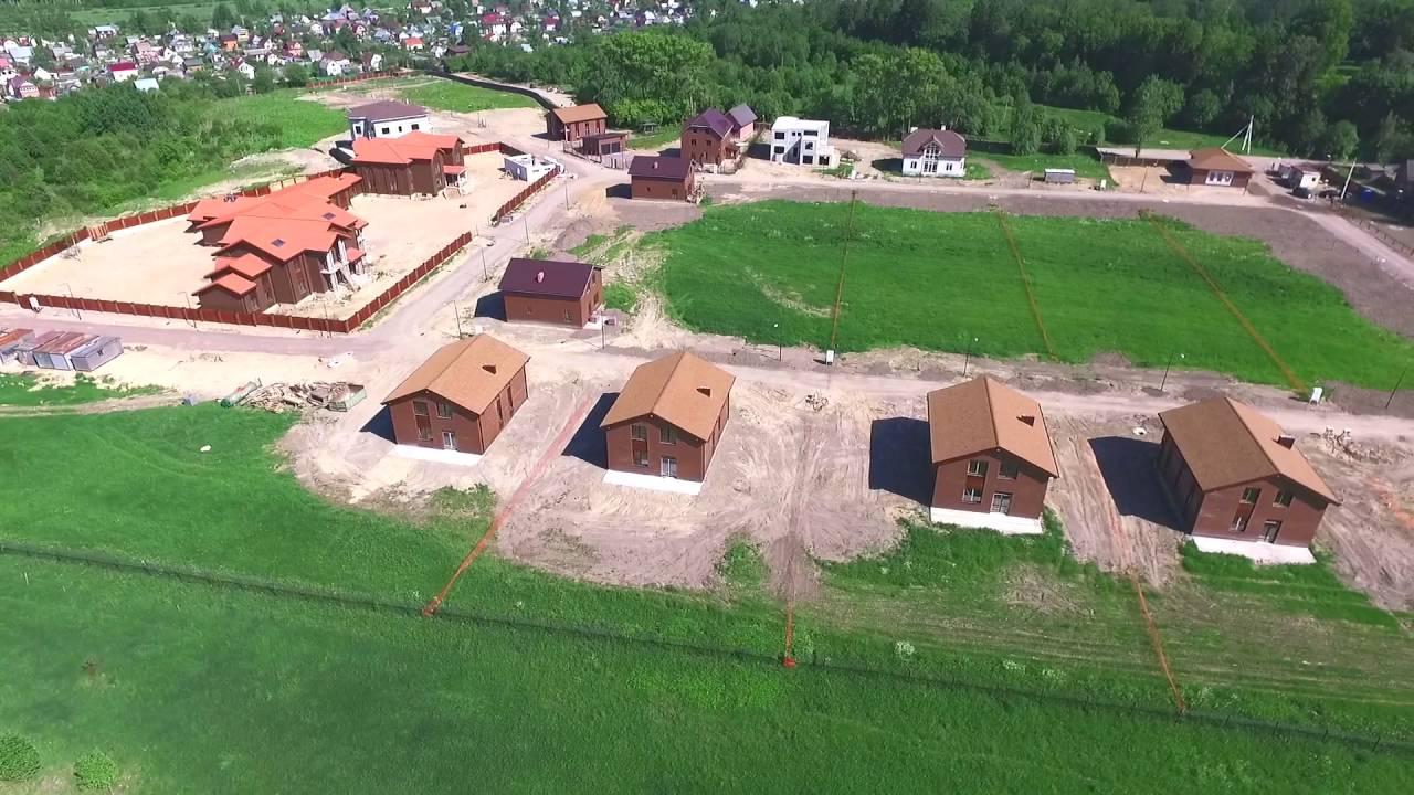 Коттеджный поселок Прайд - ход строительства - июнь 2016
