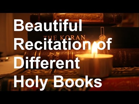 Recitations of Top Holy Books