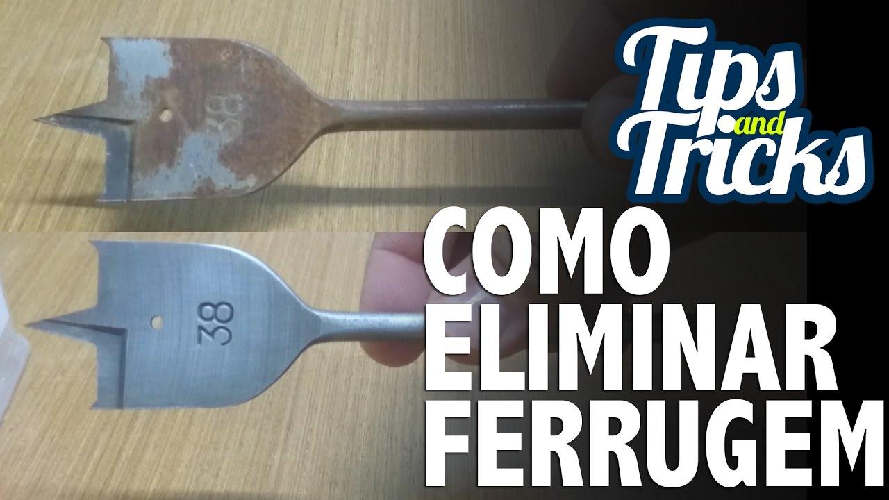 DIY - COMO TIRAR FERRUGEM DAS FERRAMENTAS - LOD MORAES - YouTube 79ae3ed54e