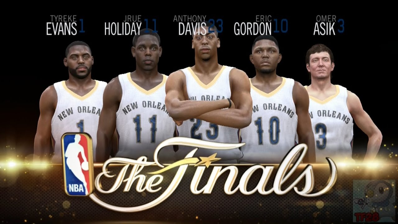 NBA Live 15 Finals Intro & Celebration - New Orleans Pelicans - YouTube