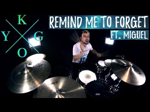Kygo, Miguel - Remind Me to Forget (Drum Remix)