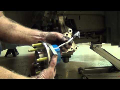 Replacing A Wheel Hub Assy 2008 Impala
