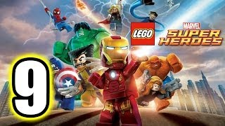 LEGO Marvel Super Heroes Walkthrough PART 9 [PS3] Lets Play Gameplay TRUE-HD QUALITY