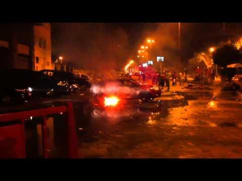 Egypt riots around Israeli Embassy 9/10/2011 (1)