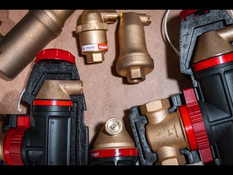 Как удалить воздух из системы отопления. Сепараторы воздуха.