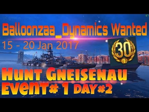 [BZD] WOWS Balloonzaa_Dynamics Wanted : Live Event#1 Day 2