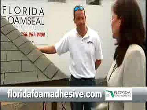 "Florida Foam Adhesive ""Anatomy of Your Roof"""