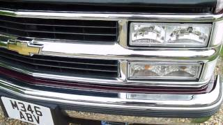 Video Review of 1995 Chevrolet Tahoe 5.7 Auto For Sale SDSC Specialist Cars Cambridge