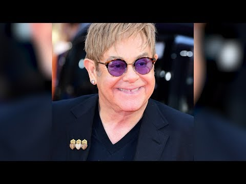 Elton John Will Retire From Touring To Spend More Time With His Children