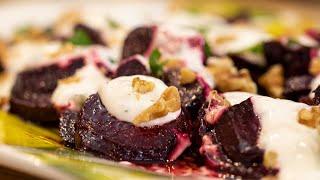 Patzarosalata: Greek Beetroot Salad
