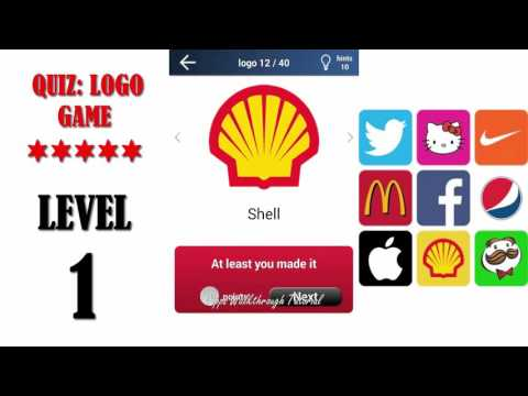 Quiz: Logo Game Level 1 - All Answers - Walkthrough ( By Lemmings at work ).
