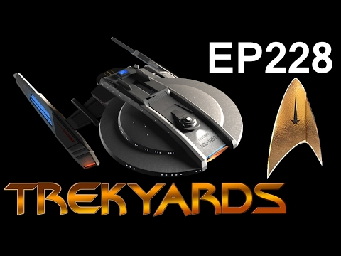 Thumbnail: Trekyards EP228 - Discovery Ship Detailed Follow-Up (ST Discovery 2017)