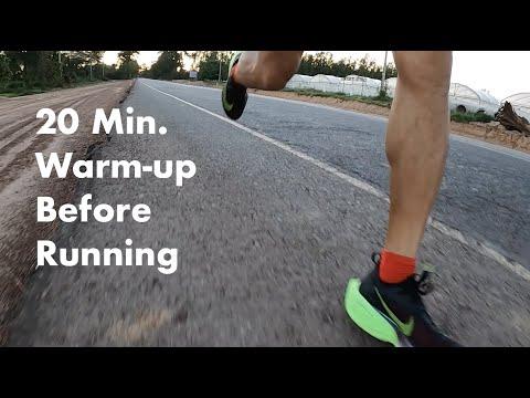 20 Min. Warm-up Before Running : เทคนิควอร์มอัพใน 20 นาที ก่อนออกวิ่งเพื่อสุขภาพ รวมถึงในวันแข่งขัน