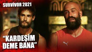 Batuhan'dan Çağrı'ya Birincilik Tepkisi   Survivor 2021