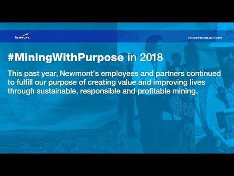 #MiningWithPurpose In 2018