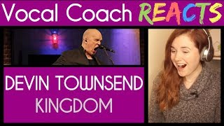 Vocal Coach reacts to Devin Townsend performs 'Kingdom' for EMGtv