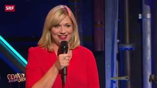 Mirja Regensburg bei Comedy aus dem Labor 2018