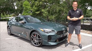 Is the 2022 Kia Stinger GT a BETTER performance sedan than a BMW M340i?