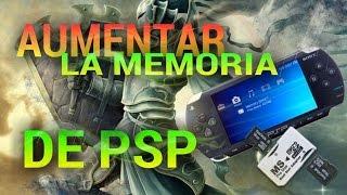 AUMENTAR la MEMORIA de PSP a 32 GB ( tutorial ) - almadgata