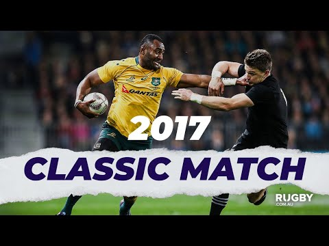 FULL REPLAY | 2017 Bledisloe Cup G2: All Blacks Vs Wallabies, Dunedin