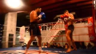 Kickbox Partij Najib Biaz