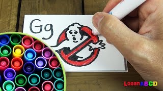 Crayola Markers , Drawing Learning ABC Letters Alphabets Phonics