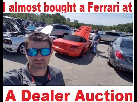 Inside Access to a DEALER ONLY Highline Car Auction