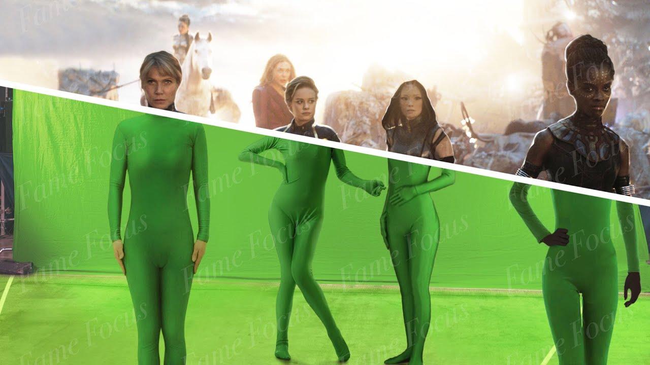 "Download Amazing Before & After VFX Breakdown ""Avengers: Endgame"""
