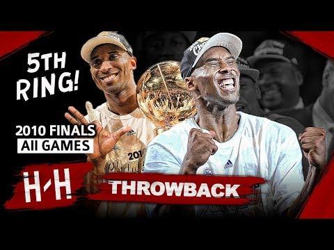 Kobe Bryant 5th Championship, Full Series Highlights vs Celtics (2010 NBA Finals) -  Finals MVP! HD