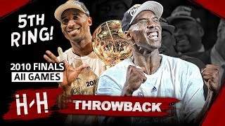 Kobe Bryant 5th Championship, Full Series Highlights vs Celtics (2010 NBA Finals) -  Finals MVP! HD