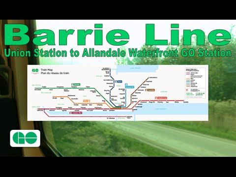 OLD: Barrie Line - GO Transit 2003-04 Bombardier BiLevel VII 2537 (Union to Allandale Waterfront)