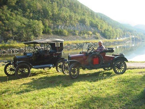 Ford Model T. To gamle venner møtes igjen. (Two old friends meet again - Model T Ford)