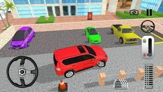 Prado SUV Parking Space Simulator | Street Vans & Cars for Kids Game Play
