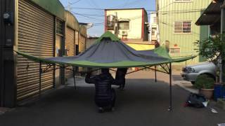 Buy Coleman Instant Beach Canopy, 13 x 13 Feet only $87 19