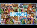 Summer Camp/School Lunch Ideas! 🍏  Week 17 | Sarah Rae Vlogas |