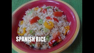 Spanish Rice  simple recipes Episode # 34