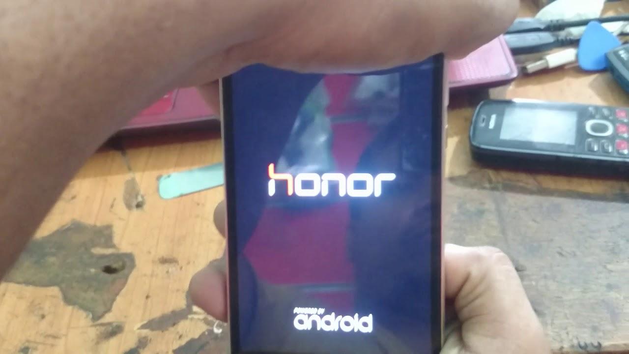 Huawei honor 4x Che-L11 hard reset
