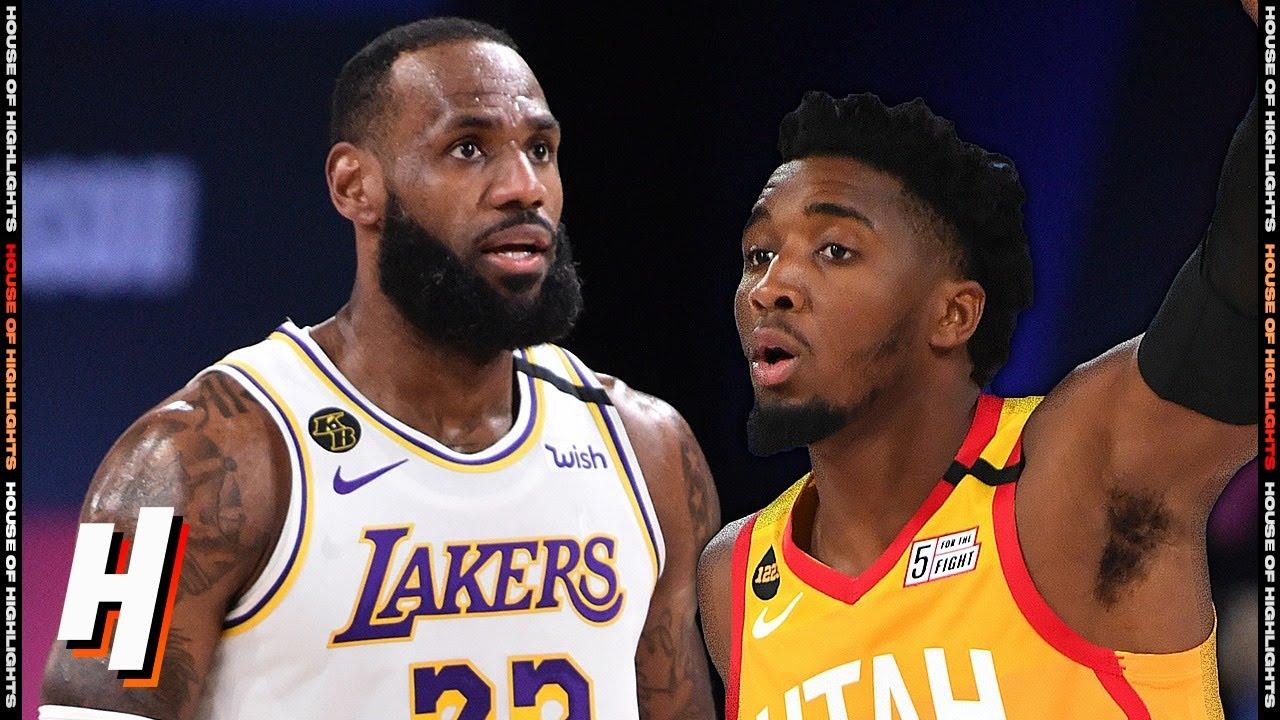 Los Angeles Lakers vs Utah Jazz - Full Game Highlights | August 3, 2020 | 2019-20 NBA Season