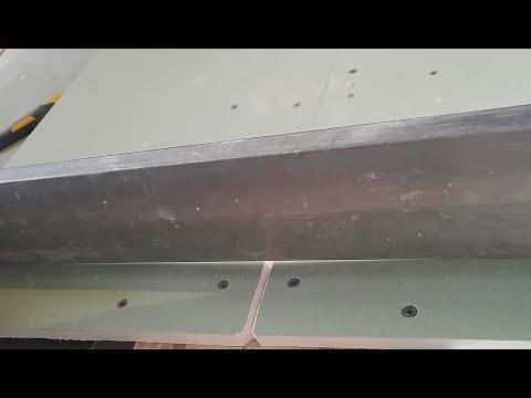 Изготовление заводской кромки путем выгибания! Этап шпаклевка!