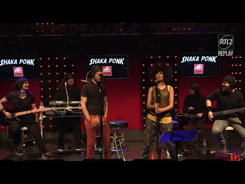 Shaka Ponk - Whole Lotta Rosie (AC/DC) - Live dans #LeDriveRTL2