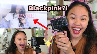 UNBOXING my VLOGGING CAMERA, Gamit ni Jennie of BLACKPINK?