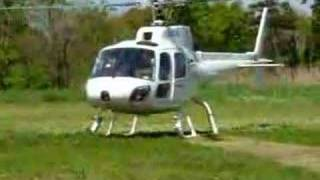 AS350B Ecureuil TAKEOFF FROM HONDA AIRWAYS 2007