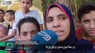 فيديو| الإسكندرية.. زوار حديقة الحيوان: أين الفيل والزرافة
