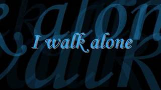 Tarja - I walk alone - Lyrics